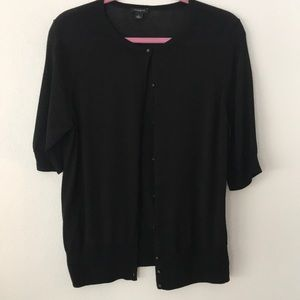 Ann Taylor Sweaters - Ann Taylor Short Sleeve Button Up Cardigan